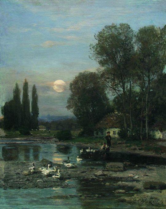 Украинский пейзаж. 1880-е