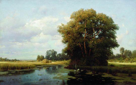 Пейзаж с болотом