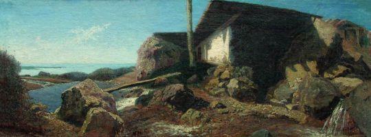 Дом возле моря. 1871