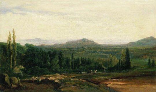 Пейзаж. Конец 1860-х