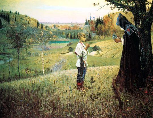 Видение отроку Варфоломею. 1889