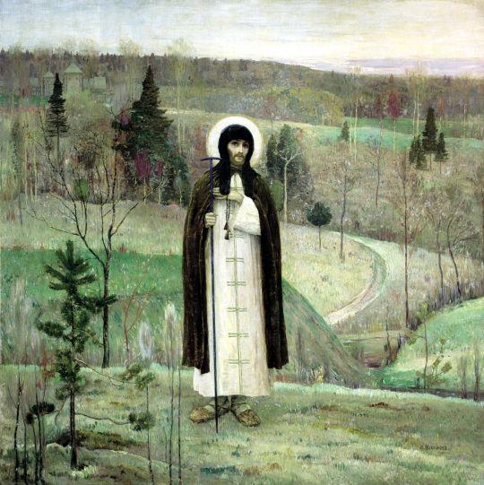 Преподобный Сергий Радонежский. 1891-1899