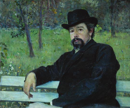 Портрет Н.А.Ярошенко. 1897