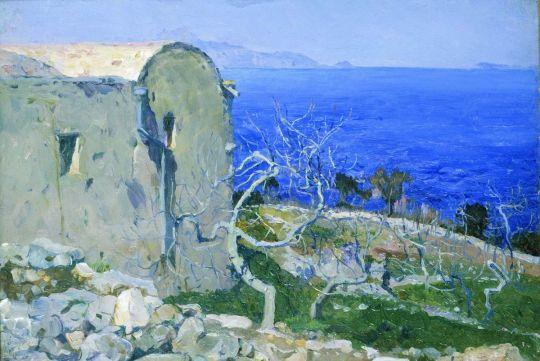 Капри. Море. 1908