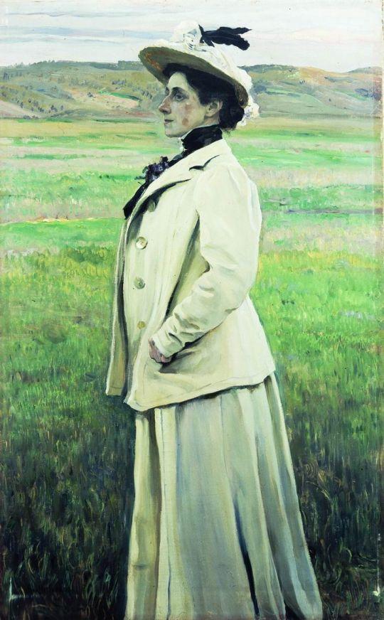 Портрет княгини Н.Г.Яшвиль. 1905