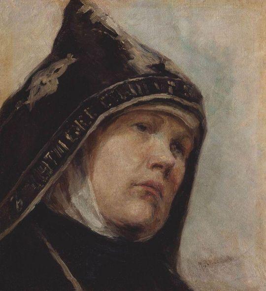 Монахиня. 1897-1898