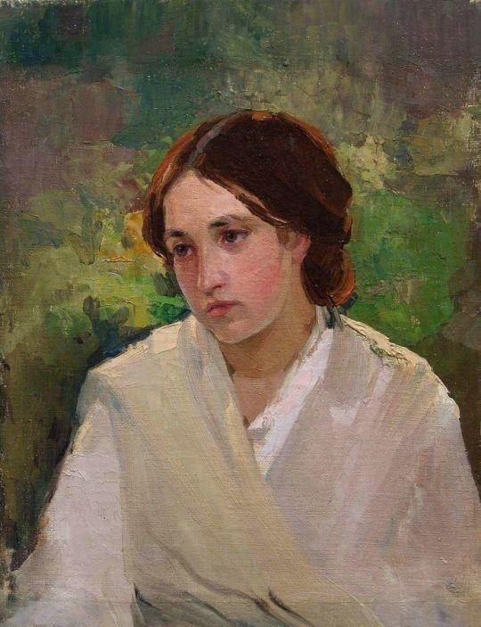 Портрет девушки. Около 1910