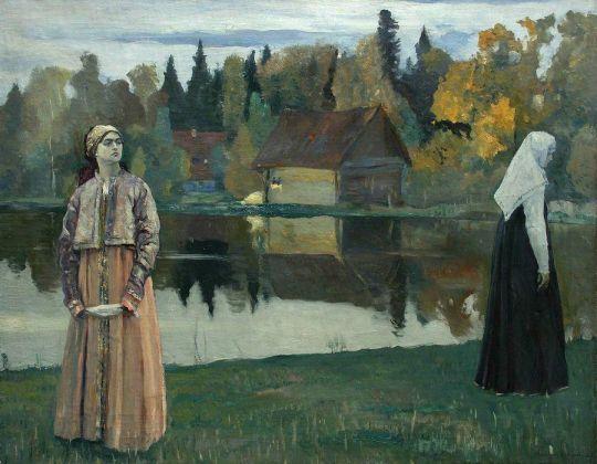 У озера. 1921