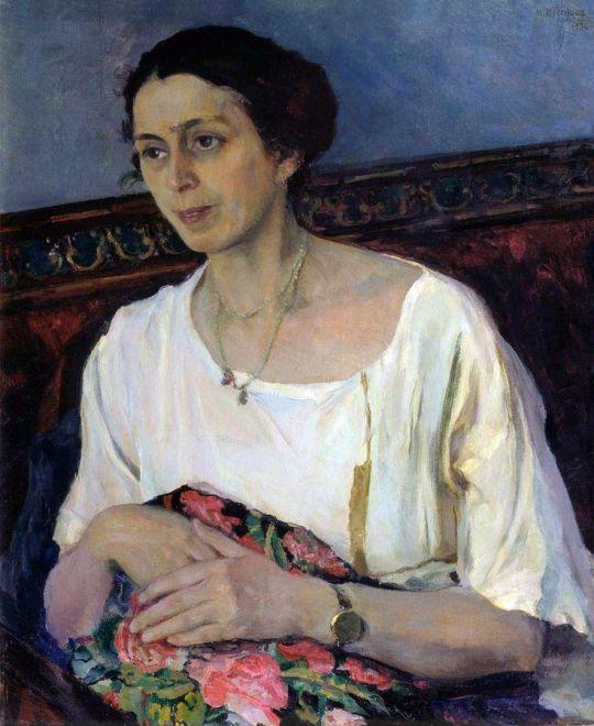 Портрет Е.П.Разумовой. 1936