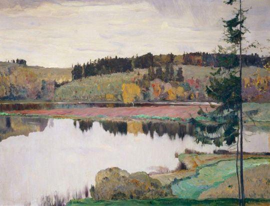 Осенний пейзаж. 1906