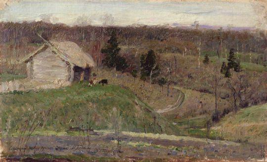 Весенний пейзаж. 1890-е