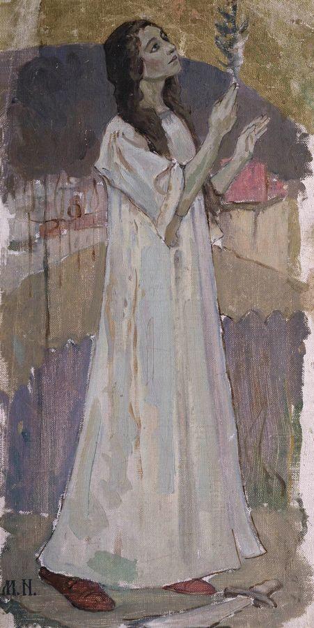 Святая Варвара. 1894