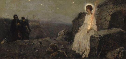 Жены-мироносицы. 1889