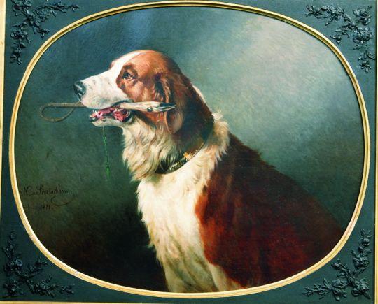 Собака. 1881
