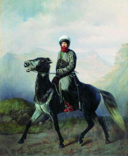 Портрет Шамиля
