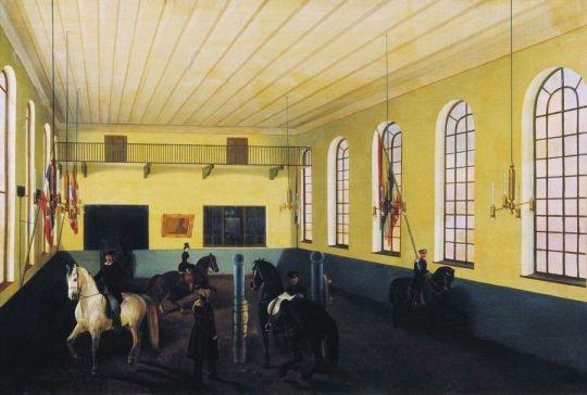 В манеже. 1853