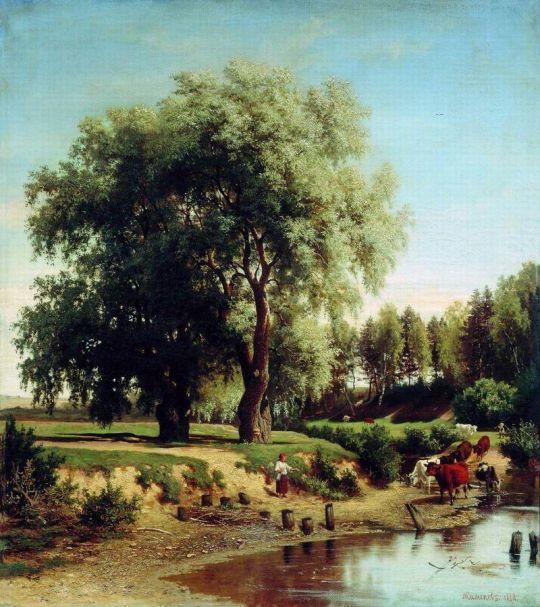 Пейзаж. 1868