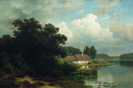 Сельская жизнь. Конец 1870-х
