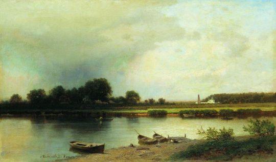 Пейзаж под Казанью. 1876