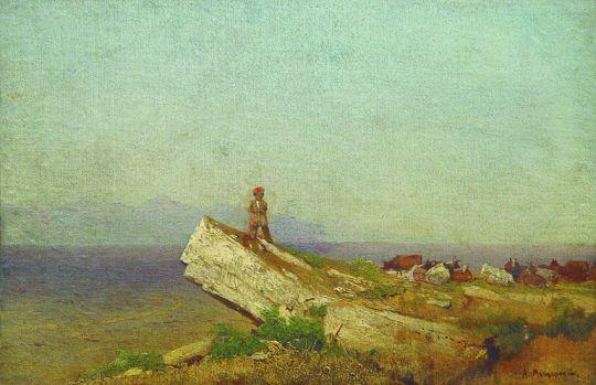 Пейзаж. 1860-е