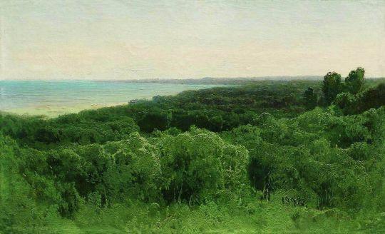 Лесные дали. 1896