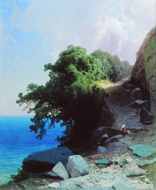 Морской вид. 1897