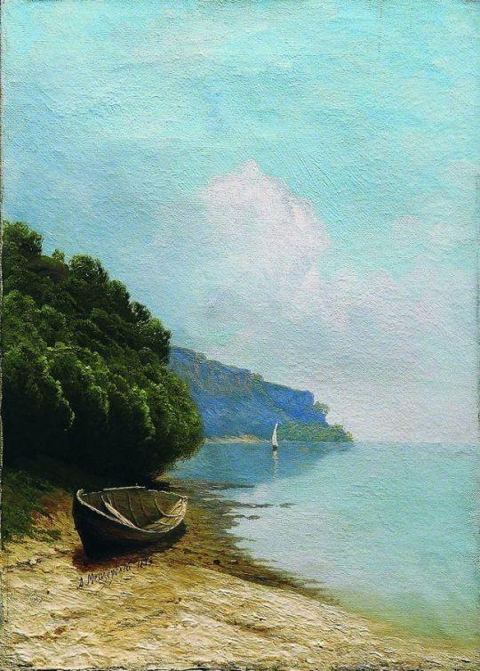 У берега. 1879