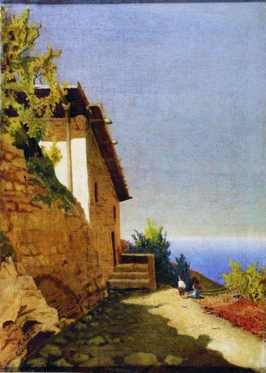 Пейзаж. 1884