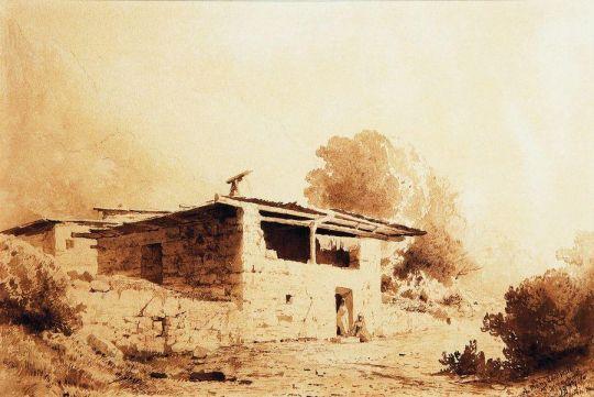 Вид в Крыму. 1873