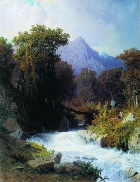 Кавказ. 1873