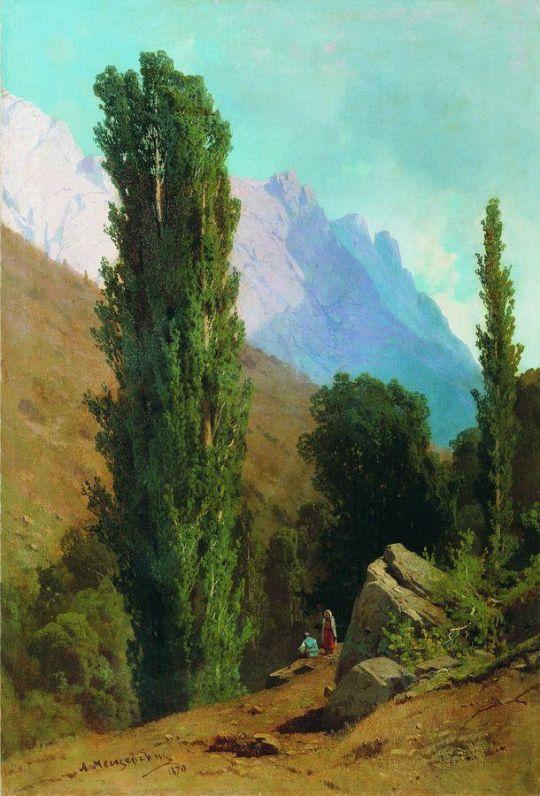 Крымский пейзаж. 1870