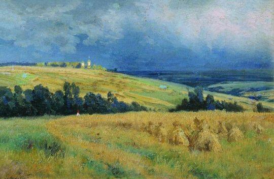 Нивы. 1892