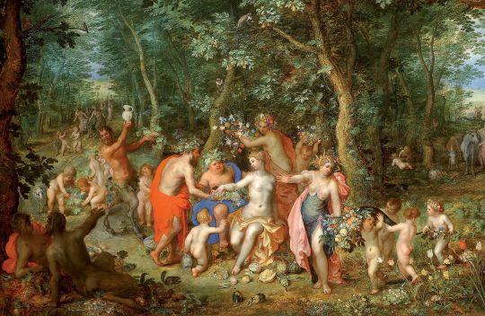 Аллегория пяти чувств. Осязание (совместно с Питером Паулем Рубенсом) (ок.1617) (Мадрид, Прадо)