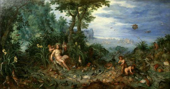 Аллегория четырёх стихий. Вода (Лион, Музей искусств)