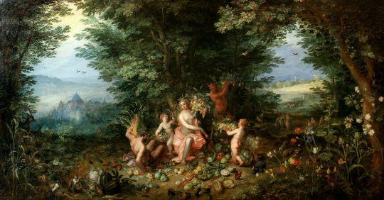 Аллегория четырёх стихий. Земля (Лион, Музей искусств)