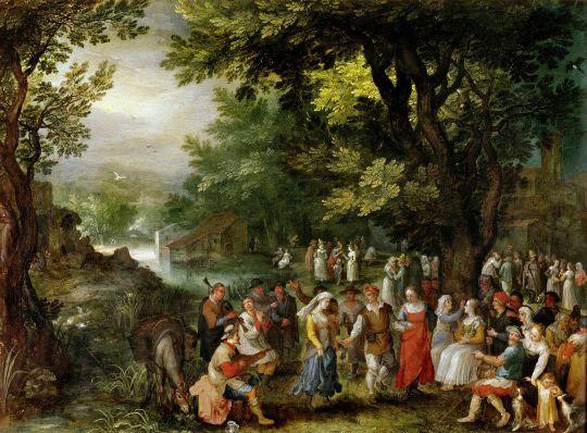 Свадьба (Антверпен, Музей Майер ван дер Берг)