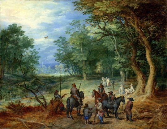 Стража в лесу (1607) (Кассель, Государственный музей)