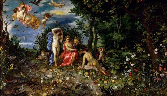 Церера и четыре элемента (1604) (Вена, Музей истории искусств)