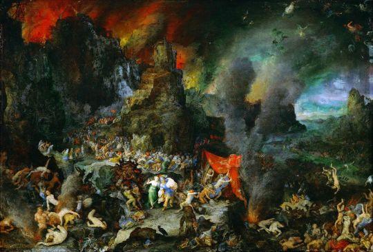 Эней и Сивилла в аду (1600-1605) (Вена, Музей истории искусств)