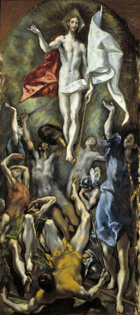 Воскресение Христово (1596-1600) (275 x 127) (Мадрид, Прадо)