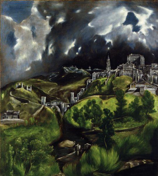 Гроза в Толедо (1596-1600) (Нью-Йорк, Музей Метрополитен)