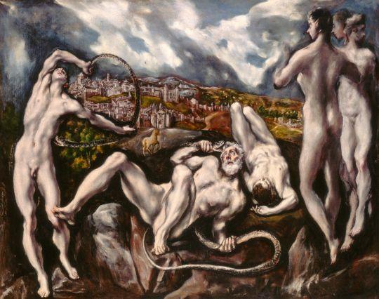 Лаокоон (ок.1610) (Вашингтон, Национальная галерея)