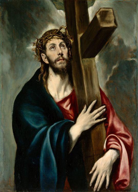 Несение креста (1581-1590) (Нью-Йорк, Метрополитен)