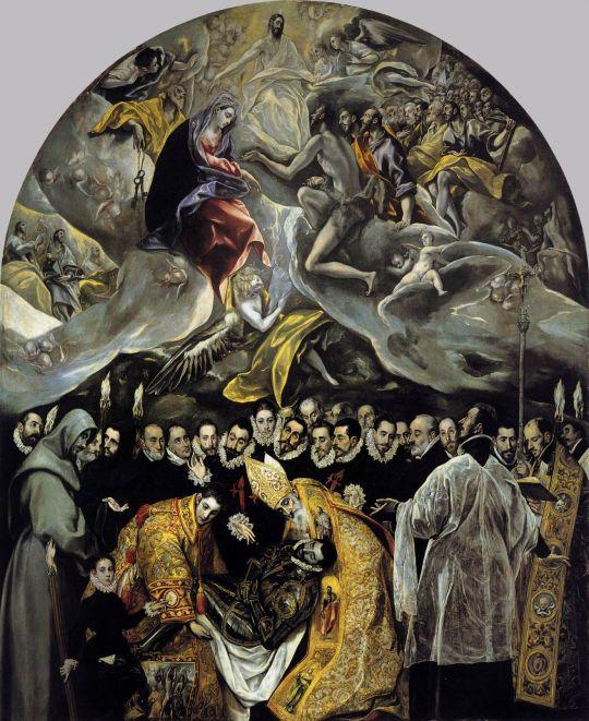 Погребение графа Оргаса (1586-1587) (Толедо, Кафедральный собор)