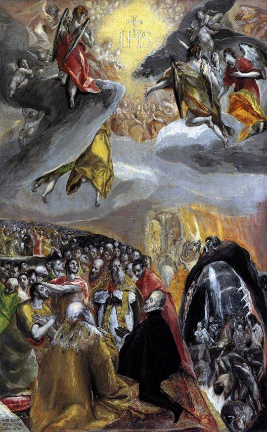Поклонение имени Иисуса (ок.1580) (Лондон, Нац. галерея).