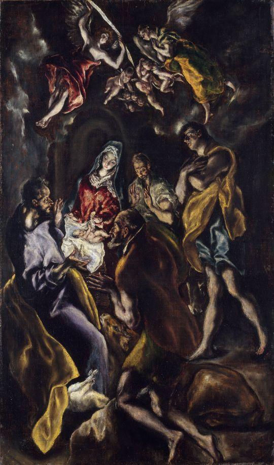 Поклонение пастухов (Нью-Йорк, музей Метрополитен).