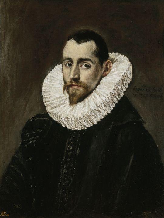 Портрет дворянина (1600-1605) (65 x 49) (Мадрид, Прадо)