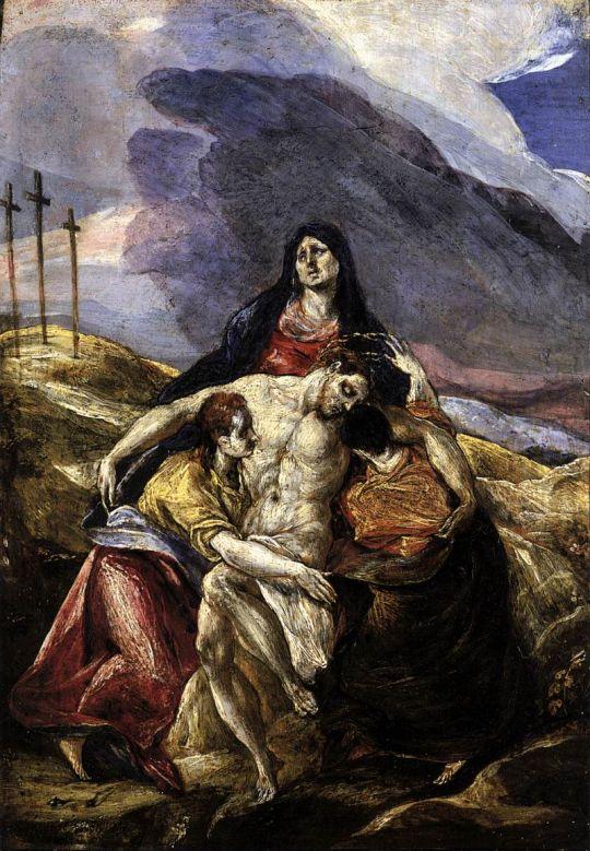 Пьета (1575) (Филадельфия, Музей искусств)_