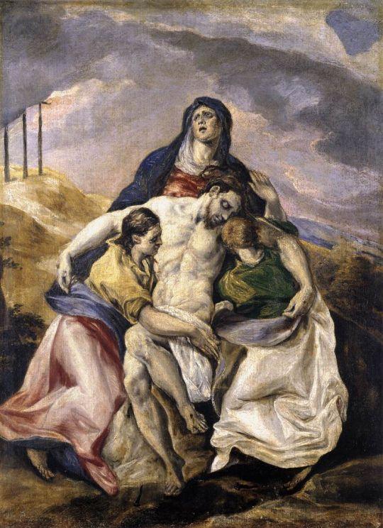 Пьета (ок.1575) (Нью-Йорк, Музей Испанского общества Америки)