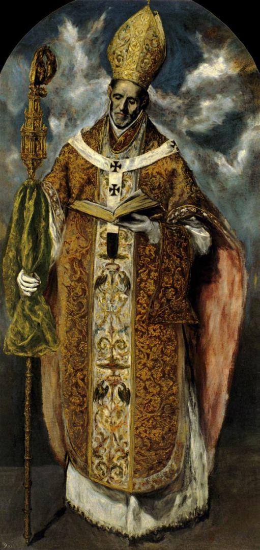Св.Идельфонс (между 1610 и 1613) (Эскориал)
